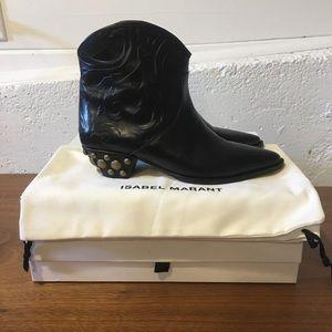 Isabel Marant Dawina Studded Boots. Size 39.